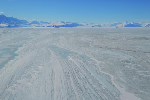 Nansen Ice Shelf looking towards Priestley Glacier