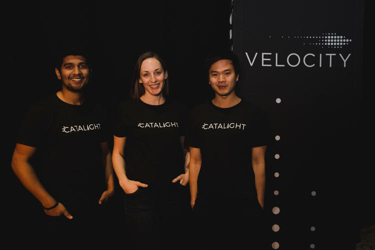 Catalight at the Velocity fund finals