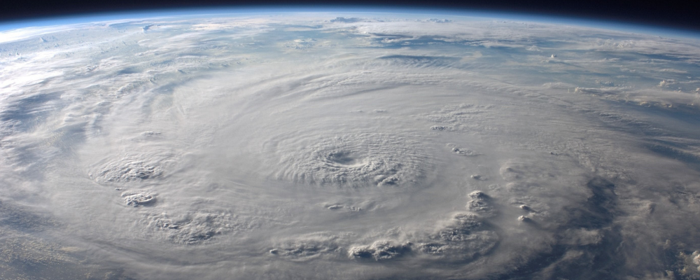 hurricane imagery from space satellite