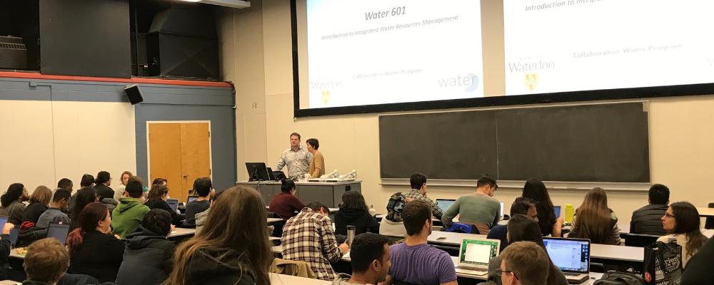 WATER 601 class cohort six