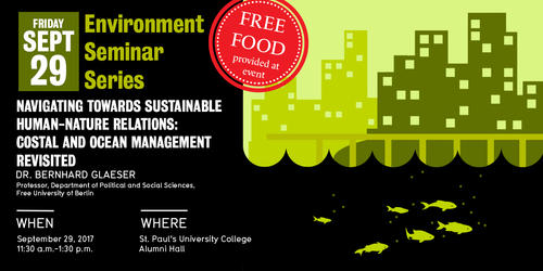 Environment Seminar Series: Navigating towards sustainable human-nature relations poster