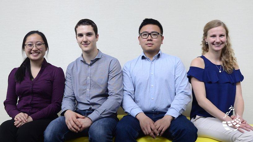 Rachel Tao, Oliver Witham, Robert Liang, Ivana Zurakowsky