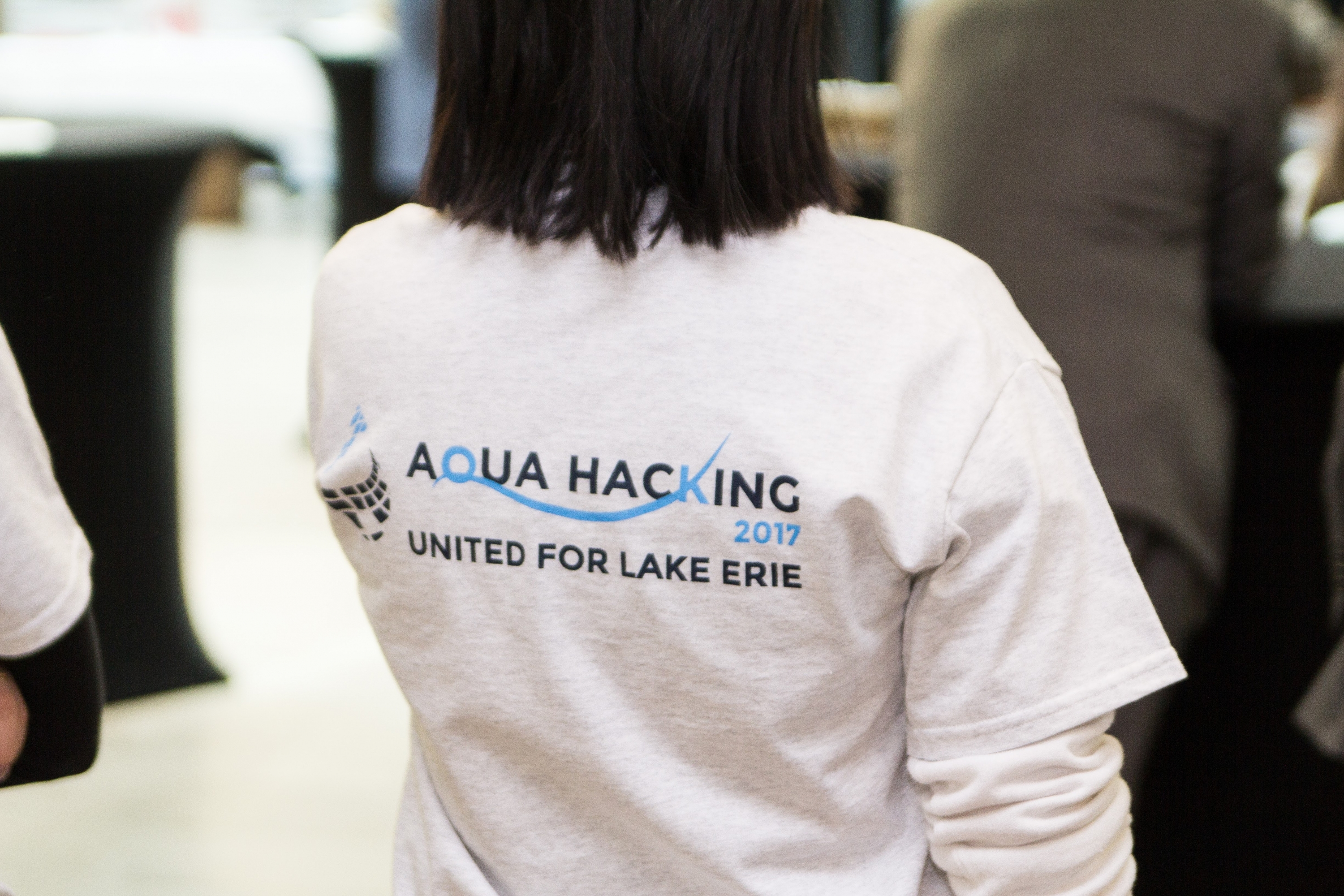 AquaHacking t-shirt logo