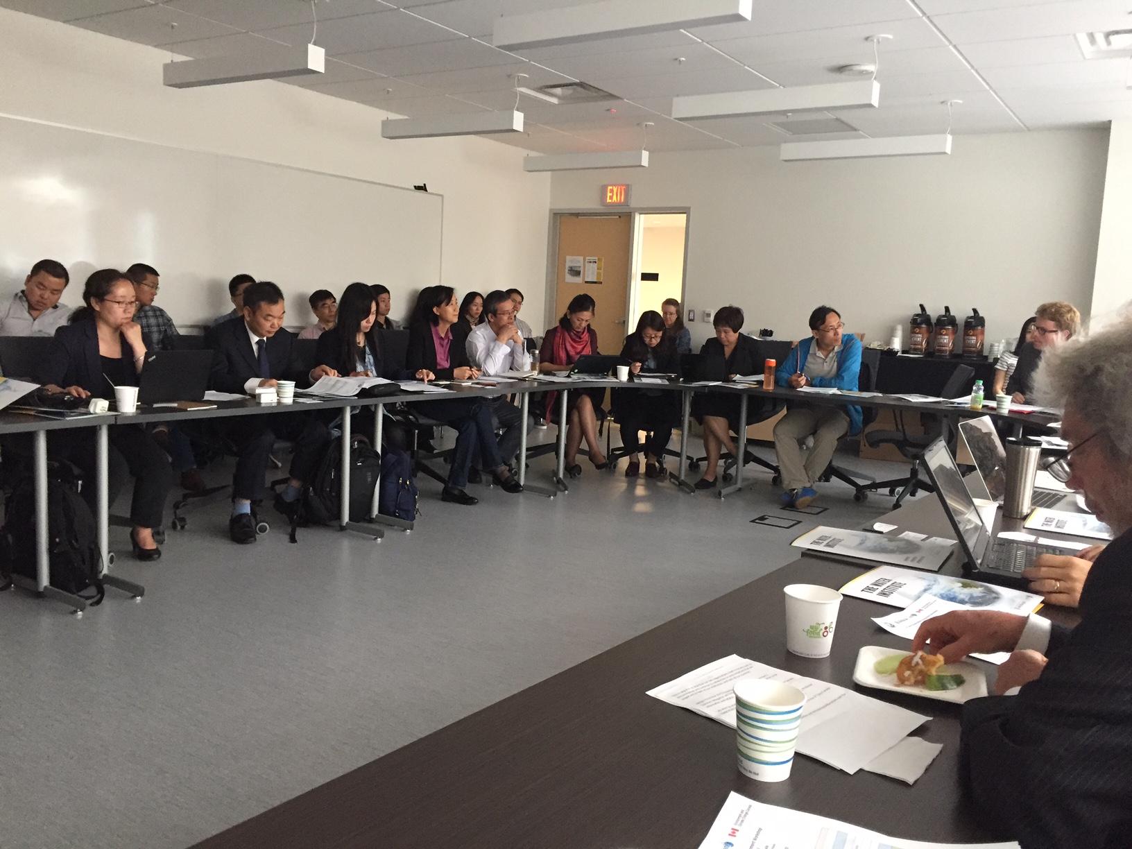 CRAES delegates at workshop