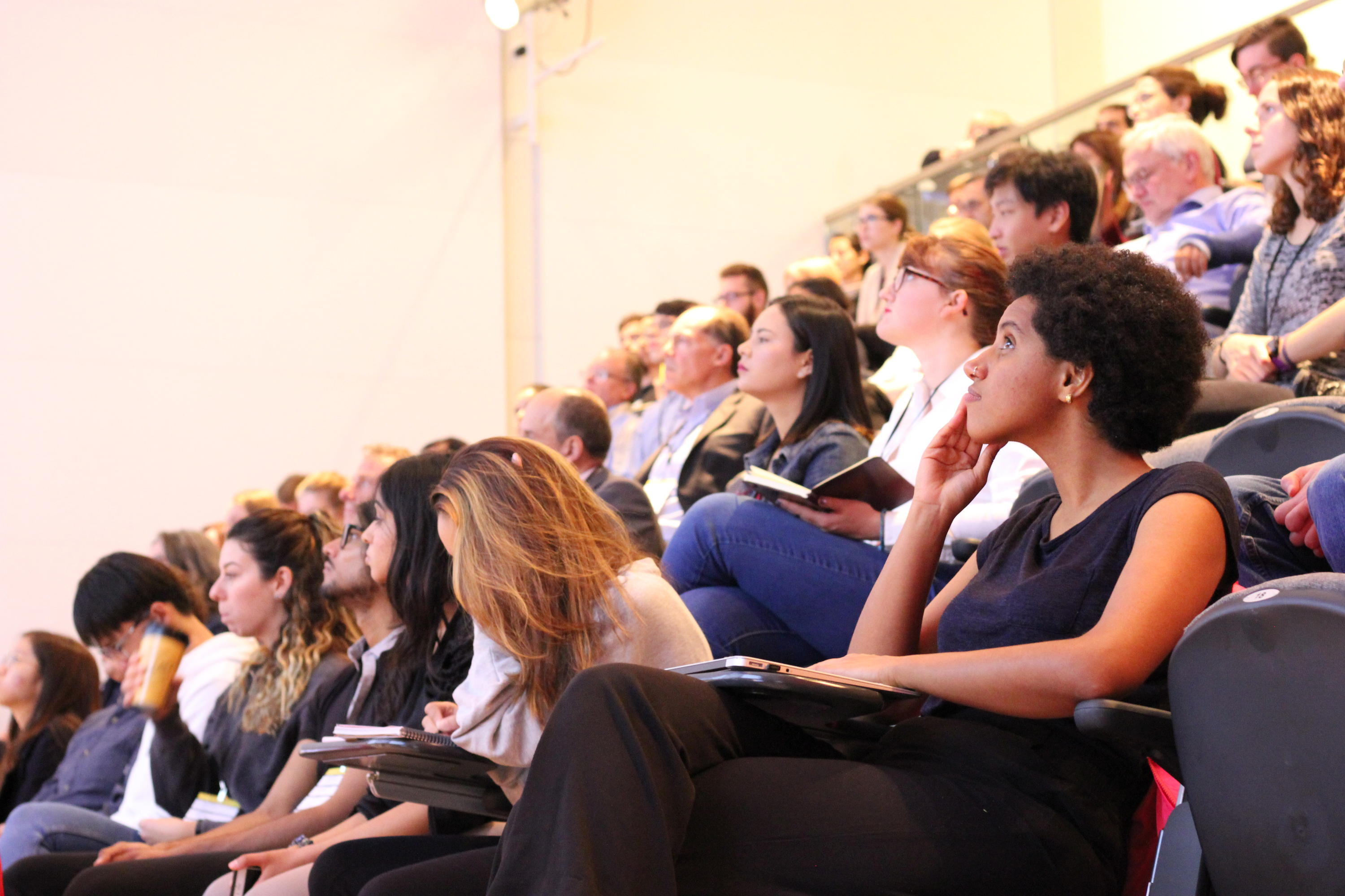 audience at water research conference