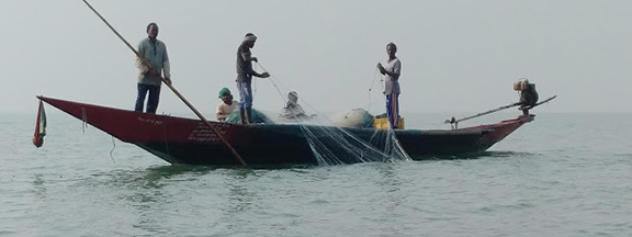 Fishing in the Bay of Bengal