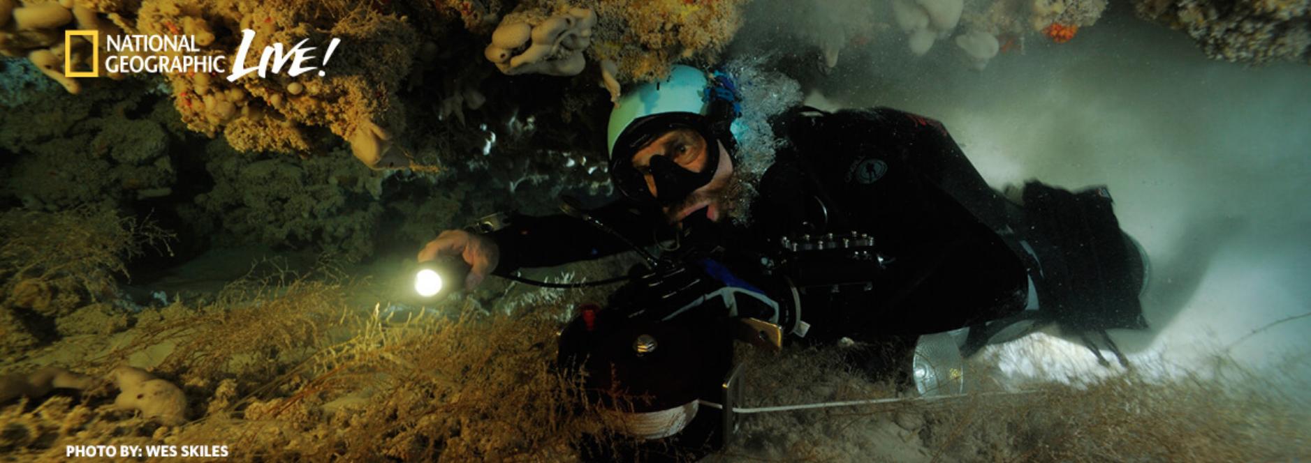 deep diver underwater