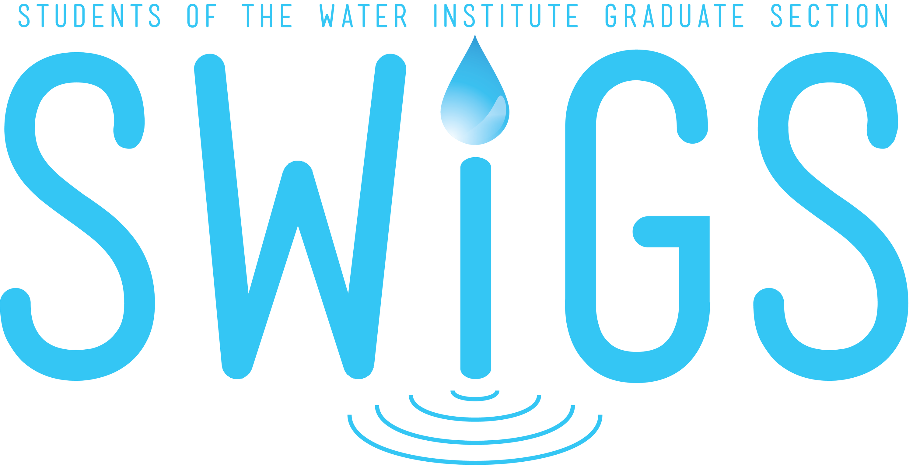 Students of the Water Institute Graduate Section (SWIGS) logo