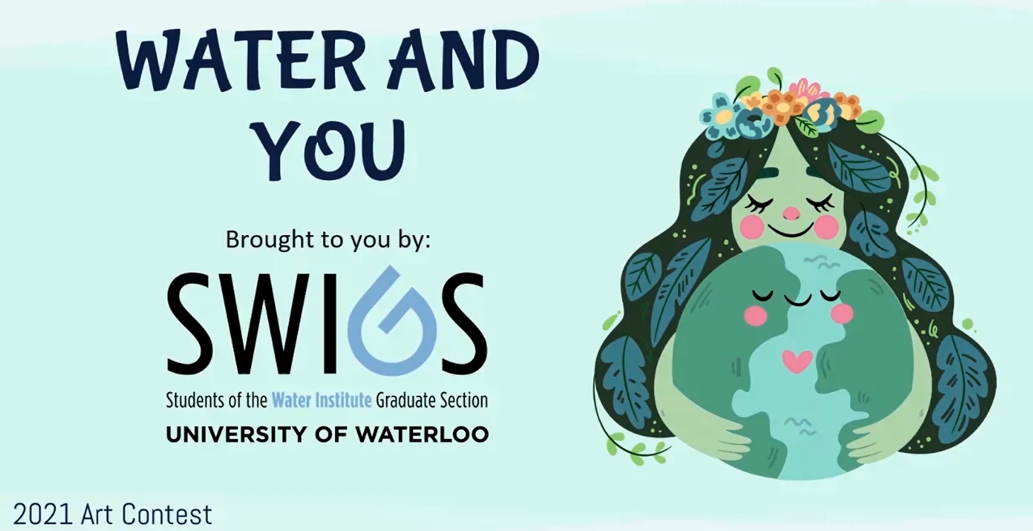 water and you poster