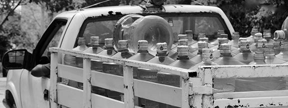 K.M.C. Miller Photo of water truck