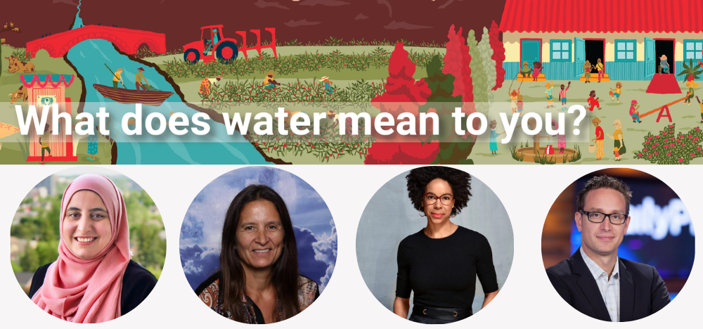 World water day speakers