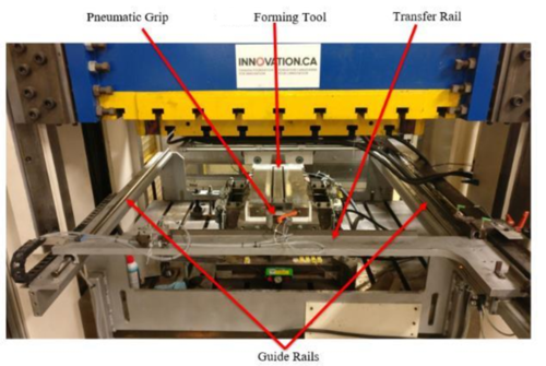 Macrodyne hydraulic press