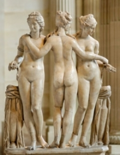 Artwork from the Hellenistic Age in the Louvre