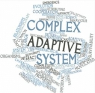 Word cloud of keywords in complex systems.