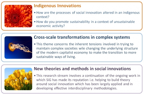 Indigenous innovations, cross scall transformations of innovation and new theories and methods