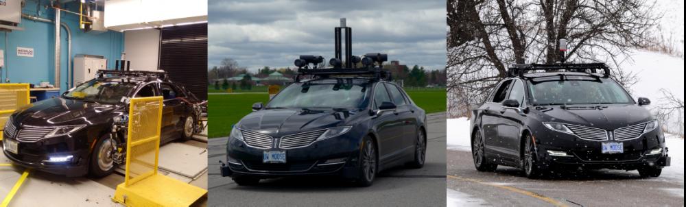 Photos of Waterloo autonomous car