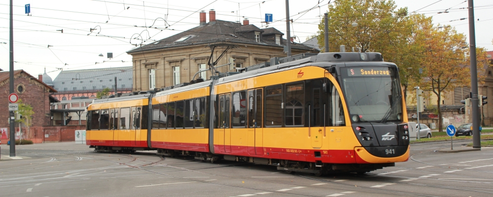 Tram in Karlsruhe, Germany