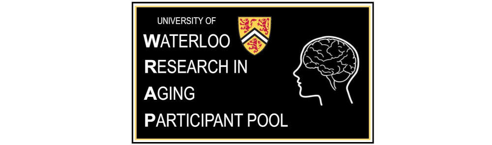 University of Waterloo Research in Aging Participant Pool logo image