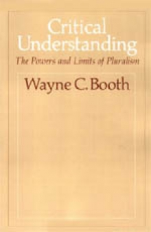 Cover of Booth's Critical Understanding