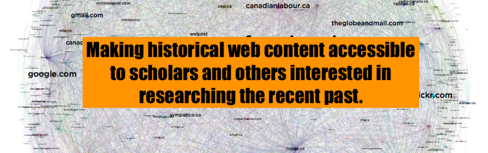Making historical web content accessible to scholars and others interested in researching the recent past.