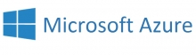 Microsoft Azure word mark logo
