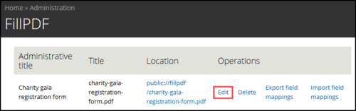 How to create a download PDF link on the confirmation page