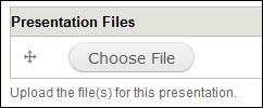 Add presentation file.