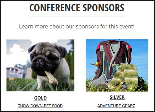 conference sponsor zoology
