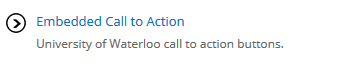 Embedded Call to Action button.