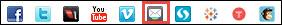 MailMan icon in editing tool bar.