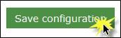 Save configuration button.