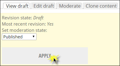 Changing moderation state to Published.
