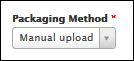 Packaging method drop-down