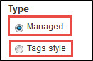 Managed and Tags style vocabulary types.