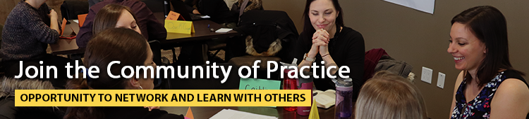 join the community of practice
