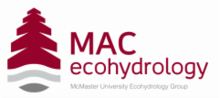 McMaster University Ecohydrology Group logo