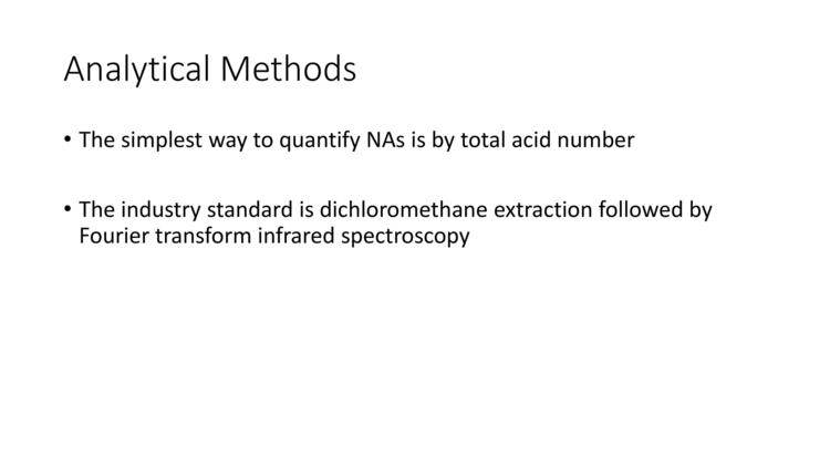 Page 4 of Naphthenic Acid Overview Presentation