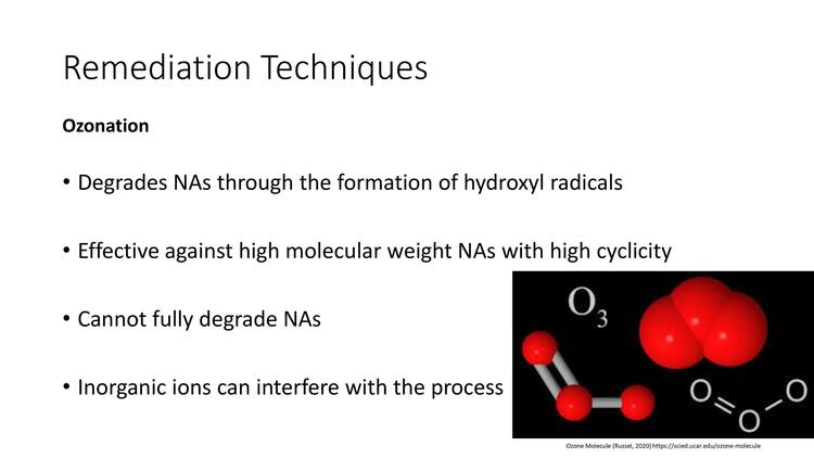 Page 14 of Naphthenic Acid Overview Presentation