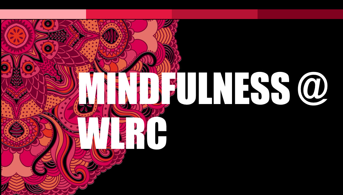 header image for mindfulness at WLRC
