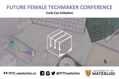 Future Female Techmakers Conference Postcard Front