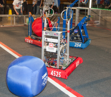 2014 First Robotics Competition; image of robots