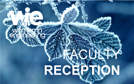 WiE Faculty Reception