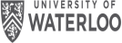 University of Waterloo logo.
