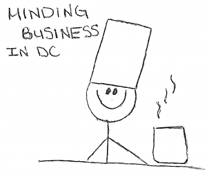 """Minding business in D.C."""""""