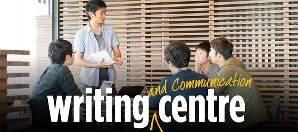 Writing (and Communication) Centre