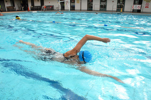 Front crawl arms