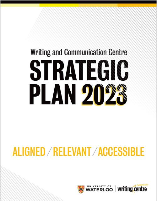 Front cover of the 2018-2023 WCC Strategic Plan