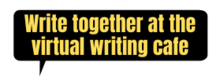 write together at the virtual writing cafe button
