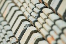 repetition of bricks pattern