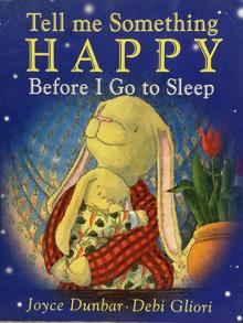 Tell Me Something Happy Before I Go To Sleep book cover